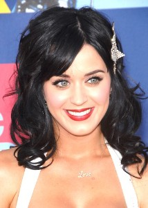 Katy Perry with Butterfly Hair Barrette