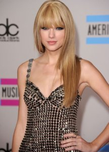 Taylor Swift with Straight Hair