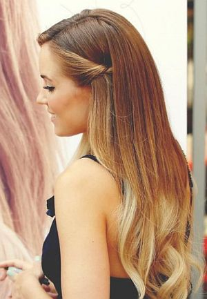 Easy Hairstyles For Thin Long Straight Hair The Blouse