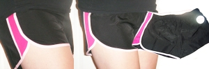 work out shorts for Breast Cancer