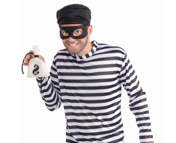 Burglar Costume Finished Example