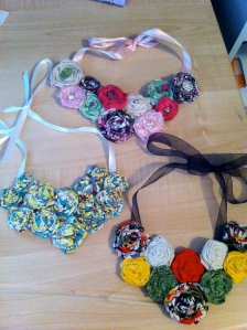 Examples of Bib Necklaces
