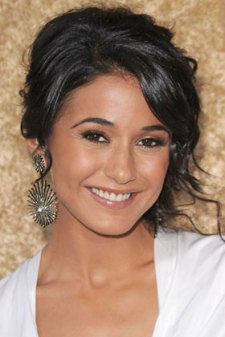 Emmanuelle Chriqui with a natural look