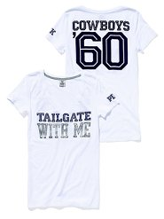 Victoria Secret's PINK Dallas Cowboys shirt