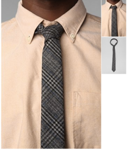Wool Plaid Tie from Urbanoutfitters on sale for 30 dollars